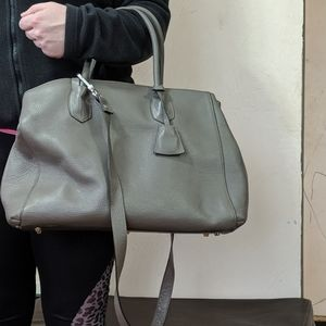 Abro soft leather large tote